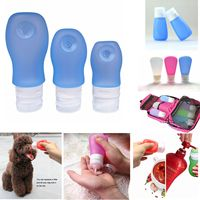 Travel Accessory Toothbrush Toiletry Tube /Silicone Travel Bottle for Cosmetic and Shampoo