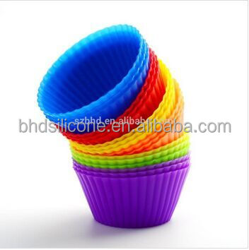 Hot Selling Silicone Baking Cups,Halloween Cake Decorating Tools Mold,Silicone Microwave Cupcake Molds