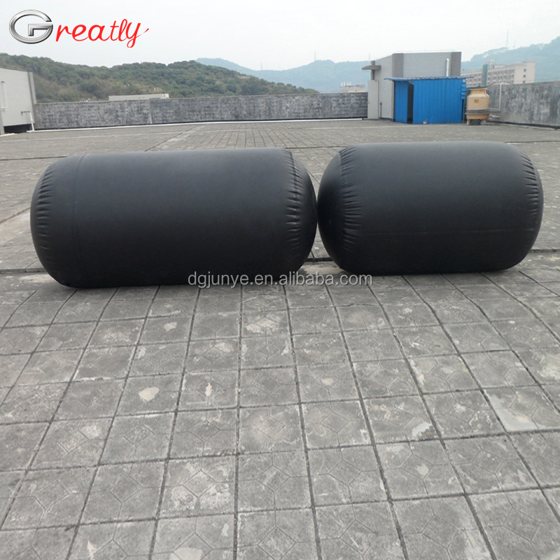 Heavy Duty PVC or Hypalon Inflatable Dock Floats Underwater Air Lift Bag