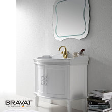 Europeen design high quality mirrored bathroom vanity unit V52906W-W