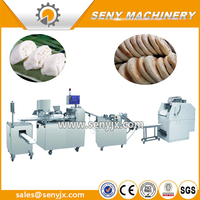 automatic special design steamed bun making machine