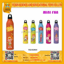 New!!Cute plastic cartoon mini fan for kids