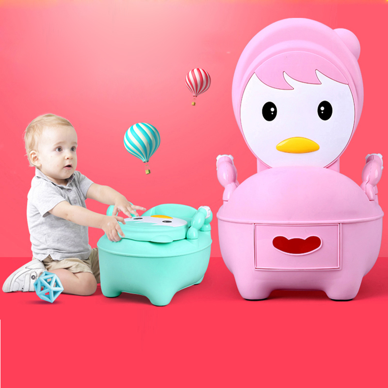New Portable Toilet Kids Potty Training Chair Plastic Toilet Seat For Children <strong>Baby</strong>