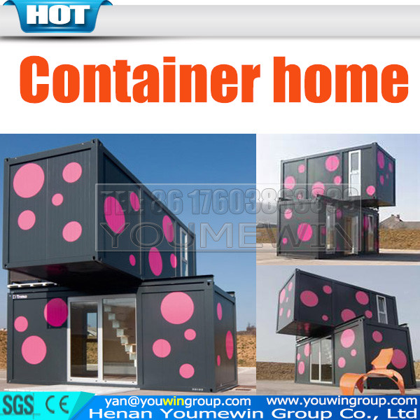 China cheap expandable luxury prefab shipping prefabricated container house container home