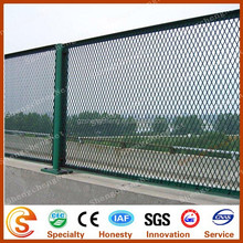 Guangzhou factory plastic coated expandable metal fence