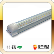 High flux 4ft 1200mm 28W V shape LED tube light T8 Integrated type Shenzhen factory High quality 4ft 28w 1200mm