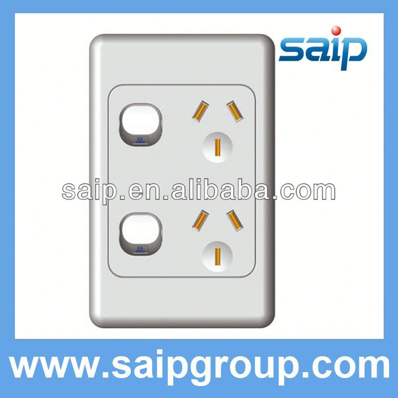 Luxurious one gang two way wooden wall switch of UK/US/AS with 5A,8A,10A,15A,20A,25A,30A