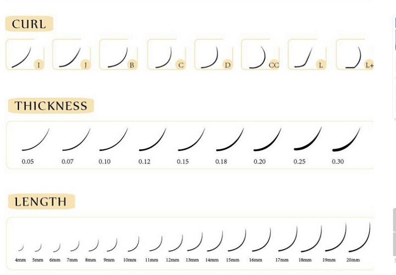 Korean Pbt High Quality Blink Eyelash Extensions Neicha