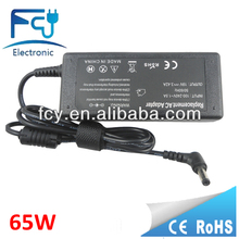 65W Notebook Laptop Power Supply for asus 19V 3.42A 5.5*2.5mm