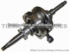 TMMP YABEN50 16T Motorcycle crankshaft assy(with bearing,range within 5dmm) [MT-0209-180A1],high quality