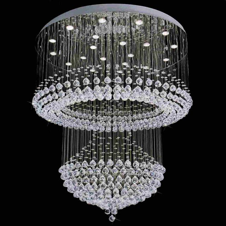 modern chandelier for high ceilings crystal niche modern