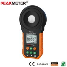 200,000 Digital Light Meter Luxmeter Photometer Luminometer tester MS6612 with LCD backlight Tester