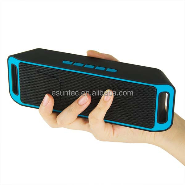 2016 portable mobile wireless mini bluetooth speaker support U disk, TF card player, FM , SC208