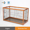 EPW - L Outdoor and indoor Rubber Wood foldable cage galvanized dog crate kennels