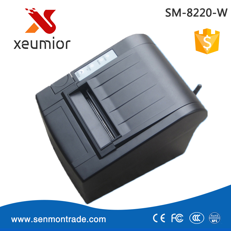 SM-8220-W Wireless Thermal Printer Auto Cutter POS Printer Compatible with SAMSUNG