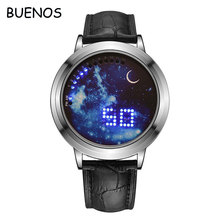 Creative Simple Student LED Electronic Smart Touch Screen Watch for Kids