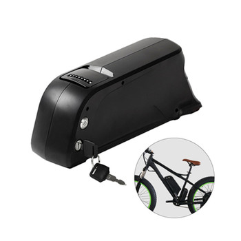 Ebike Battery downtube bottle type 18650 10.4ah 11.6ah/13ah/14.5ah dolphin li-ion battery with charger