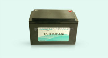 12V 100AH electric car battery(clean car)