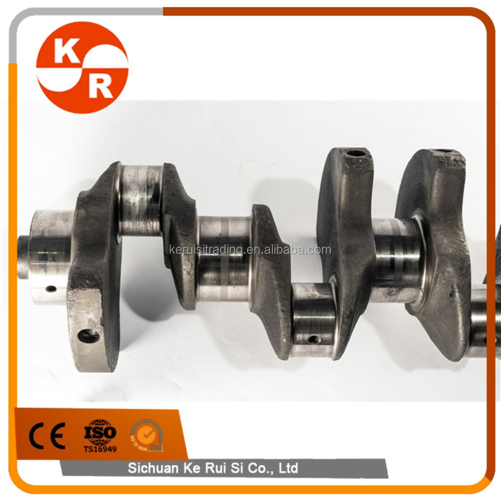 Rxz engine Crankshaft for KOMATSU Forged Steel 6D102 Crankshaft