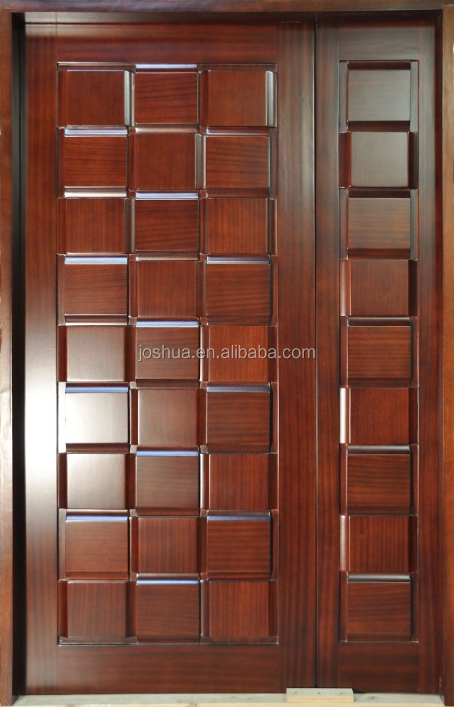 apartment Raised panel external wood security doors