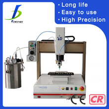 high precision automatic pvc shoe cover glue dispensing machine