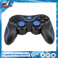 2016 Hot Sale A8 Bluetooth Android Gamepad Game Universal Remote Controller(Black+Blue)