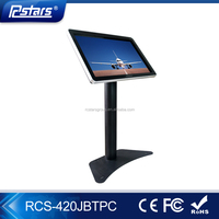 42in hot selling touch screen kiosk / shopping mall advertising touch screen kiosk / advertising display