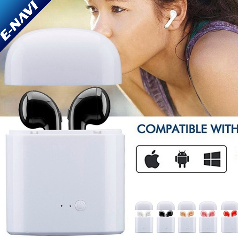 Wireless Headset Headphone Sports Music Earphone For IPhone Android Phones Tablet