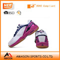 New design professional indoor badminton shoes breathable upper tennis shoes in very competitive price from amason company