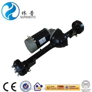3kw 48v electric golf cart dc motor with axle