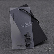 Alibaba china new products high quality clothing hang paper tag with custom design