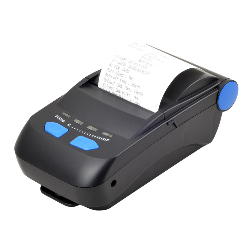 58mm Bluetooth handheld mobile mini printing portable receipt thermal printer