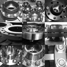 ASTM A182 F53 super stainless steel WN flange