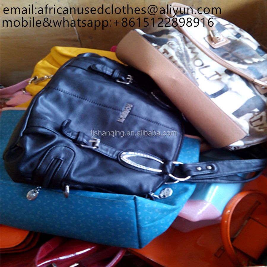 2017 year fashion used clothing,used clothes/used bags/secondhand bags/leather bags