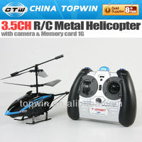 3.5ch R/C metal with camera rc helicopter fast charge scale rc helicopter fuselages