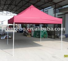 3x3m Steel Peak pop up folding tent with polyester cover