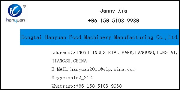 hanyuan stainless steel fresh potato chips making machine
