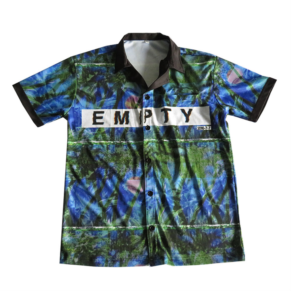 custom tight fit sublimated women dart shirts