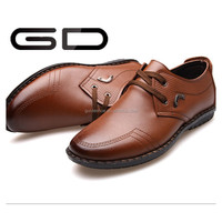 China Manufactory famous shoe brand in Alibaba Men leather shoes