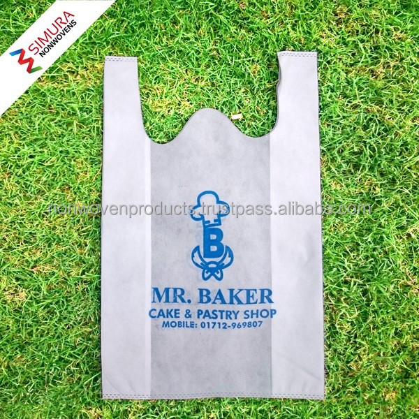 Non woven T-Shirt Bag for Grocery