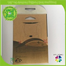 Small Cheap Brown Kraft Paper Gift Bag with Clear Window