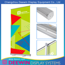 Hot sale basic aluminum econo retractable banner stands roll up banner pull up display stand
