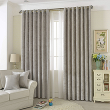 Super Soft Thermal Insulated Window Treatment Bedroom Drapes Ready Made Eyelet Blackout Curtain for Living Room /Cafe/Hotel