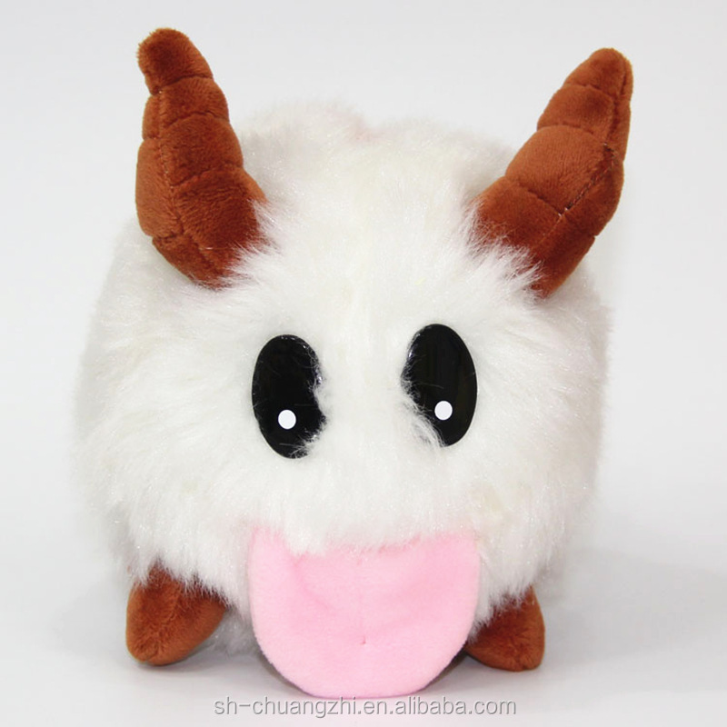 Faux Fuzzy Wholesale Factory Custom cuddly plush stuffed League of Legends LOL Hero kids cosplay Dolls