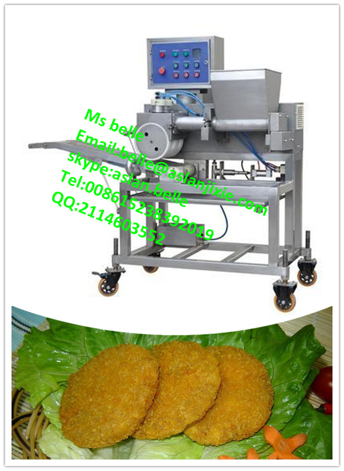 automatic patty making machine/burger patty maker