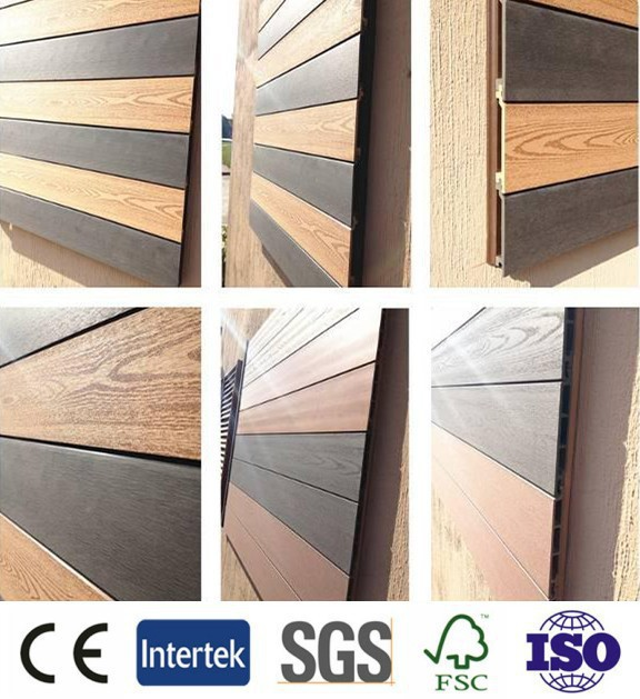 European Standard Cheap Wpc Wall Panel Wood Composite