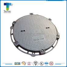 Cast & Forged Newest design cast iron / ductile iron double seal manhole cover and frame