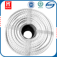 HYropes RR0331 white Color atv synthetic winch rope kits synthetic winch rope accessories