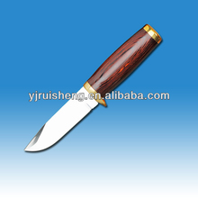 High Quality Fillet knife with color wood handle