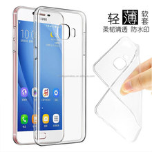 Shockproof clear ultra TPU slim fit cover protect case for Samsung J5 prime